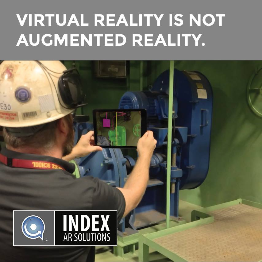 Augmented reality isn't virtual reality